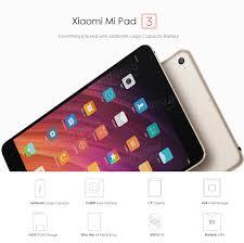 original box multi language xiaomi mi pad 3 64gb hexa core 4g ram