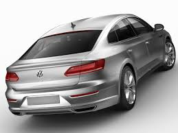 vw arteon 2018 3d model in sedan 3dexport