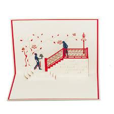 3d handmade greeting cards wedding invitation and love anniversary