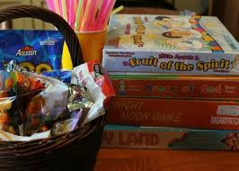 Game Night Gift Basket Family Movie And Family Game Night Ideas