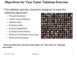 Table Top Exercise by Cyber Tabletop Exercises U0026 Lessons Learned Ppt Video Online Download