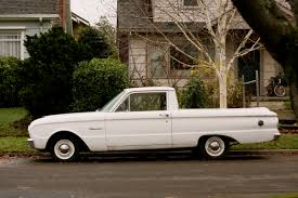 Old Ford Truck Information - old parked cars 1962 ford falcon ranchero