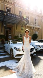 Fitted Wedding Dresses The 25 Best V Neck Fit And Flare Wedding Dress Ideas On Pinterest