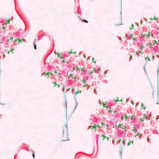wallpaper with pink flamingos beach image of a wallpaper with a beautiful tropic pink flamingo