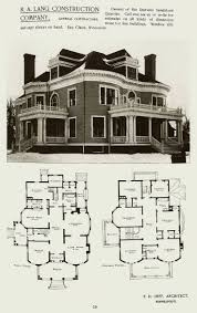house plan historic victorian singular era best old houses plans