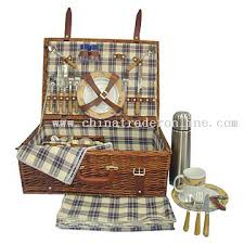 Picnic Basket Set For 4 Wholesale Willow Picnic Basket For 4 Persons Buy Discount Willow