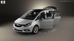 opel zafira interior 2016 360 view of vauxhall zafira c tourer with hq interior 2016 3d