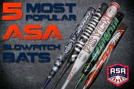 best slowpitch softball bats most popular pitch bats