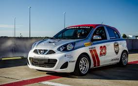 nissan micra race car nissan micra cup and gt academy at the 2016 super auto show