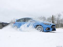 subaru snow wallpaper 2016 ford focus rs in snow side hd wallpaper 149