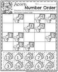 fall kindergarten worksheets for november planning playtime