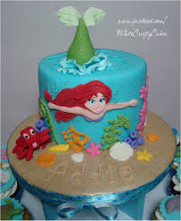 the mermaid cake the mermaid cake and cupcake tower cakecentral