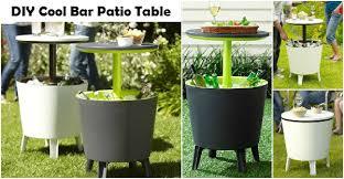 Patio Bar Tables Diy Cool Bar Patio Table Diy Comfy Home