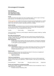 free chronological resume template chronological resume template free chronological resume template
