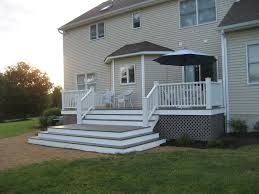 Patio Decking Designs by Decorate Your Backyard With Deck Ideas Home Decorating Modern