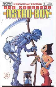 original astro boy 1987 comic books 1988