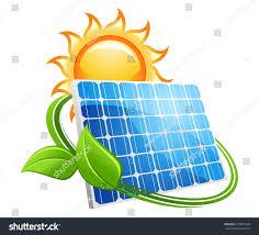 solar panels clipart solar panel icon golden sun stock vector 229861990 shutterstock