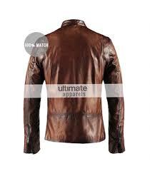 mens leather motorcycle vest cafe racer vintage men u0027s brown motorcycle leather jacket