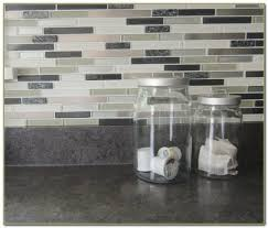 Peel And Stick Backsplash How To Install Sticktile Peel U - Self stick kitchen backsplash