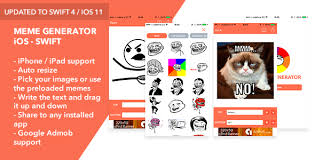 Meme Generator App Iphone - meme generator ios swift app by rssyow codecanyon