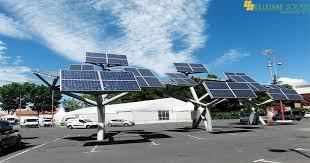 solar trees to light up delhi s streets from today ellume solar