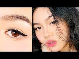 liquid eyeliner tutorial asian how to apply eyeliner for asian eyes monolids how to do winged