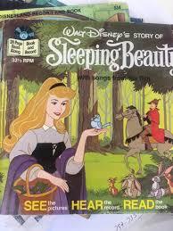 walt disney u0027s story sleeping beauty book record