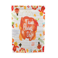 2017 happy thanksgiving garden flags house decor mini yard banner 12