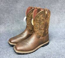 womens boots george justin boots george strait collect gsl9050 s boot 9 ebay
