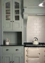 Handmade Kitchen Cabinets by Interiorschristopher Peters Bespoke Kitchen Finished In Lichen By