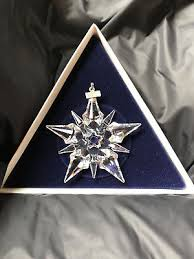 swarovski annual snowflake ornament 9445