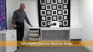 tailormade sewing cabinets nz tailormade cabinets youtube
