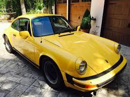 yellow porsche 911 1980 porsche 911 sc talbot yellow coupe rennlist porsche