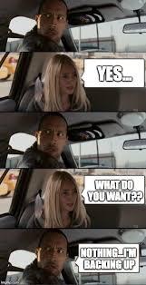 Dwayne Johnson Car Meme - dwayne the rock driving imgflip