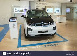 bmw dealership interior bmw i3 electric car interior usa stock photo royalty free image
