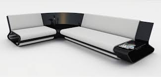 Small Contemporary Sofa by Canape Slimy Modern Sofa