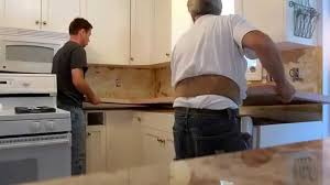 How To Remove A Kitchen Countertop - how to remove your kitchen sink and formica top youtube