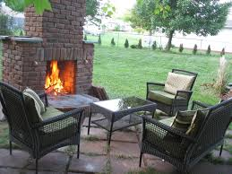 How To Lay Brick Fireplace by How To Build Outdoor Fireplace Home And Gardening How To Build An