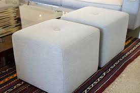 Cube Ottoman Contemporary Cube Ottomans Customize At Five Elements Five