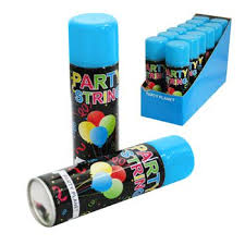 silly string silly string blue bulk box of 12 party supplies online