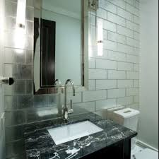 mirror tiles for bathroom walls beveled tile beveled subway tile westside tile and stone