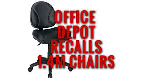 14 Million Office Depot Chairs Recalled Due to Risk of Serious