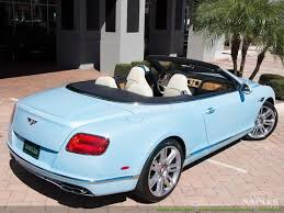 bentley convertible blue 2016 bentley continental gt gtc mulliner convertible