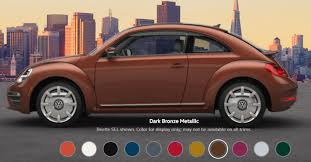 2017 volkswagen beetle paint colors