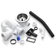 Kits Space Saving Pop Up Waste Plumbing Kit   Bowl Kitchen S - Kitchen sink waste fittings