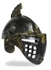 Spartan Costume Halloween Roman Helmet Costume Ebay