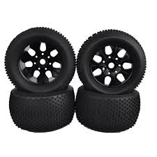 hsp nitro monster truck 4pcs 140mm rc 1 8 monster truck bigfoot tires 17mm hex wheel rim
