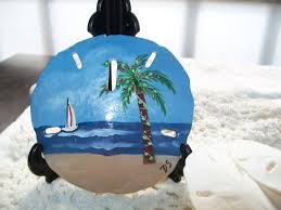 painted sand dollar tropical