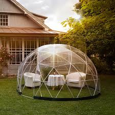 garden igloo garden igloo 360 dome with optional canopy cover by cuckooland