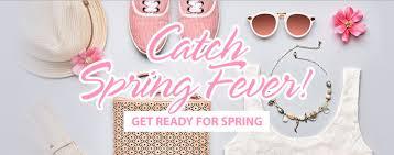 catch spring fever let shop com help you get ready for spring